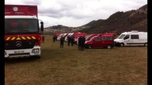 First Rescue in Seyne-les-Alpes for the A320 GermanWings Crash in French Alps