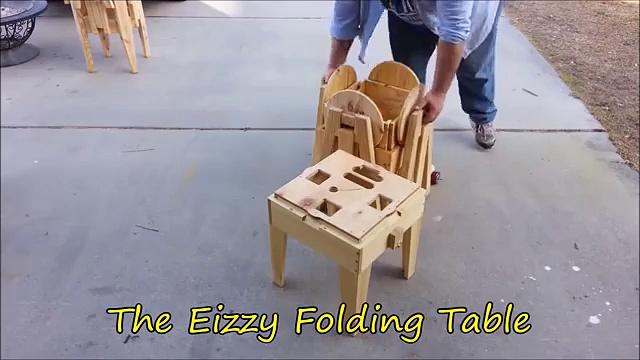 Wow, Incredible Folding Table!