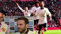 Liverpool vs Manchester United 1 - 2 - Juan Mata & Michael Carrick post-match interview - YouTube