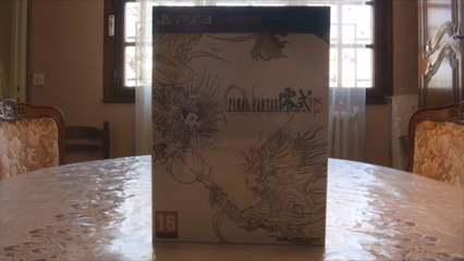 Final Fantasy Type-0 HD - Edition Collector (Video Unboxing PS4)