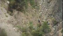 VIDEO FRANCETV. Crash dans les Alpes : les premières images des débris