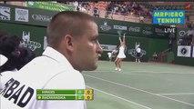 Aga Radwanska vs Martina Hingis Champions Tennis League 2014 Highlights