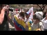 Opositores y estudiantes piden la intercesión del papa y la dimisión del director de la Policía