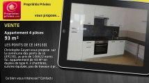 A vendre - appartement - LES PONTS DE CE (49130) - 4 pièces - 93m²