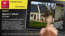 A vendre - maison - LE PLESSIS GRAMMOIRE (49800) - 7 pièces - 173m²