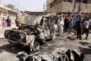 55 Killed In Iraq Car Bombs Rattle Baghdad  Ten Car Bombs Blast Across Baghdad
