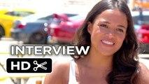 Furious 7 Interview - Michelle Rodriguez (2015) - Paul Walker, Vin Diesel Movie _HD