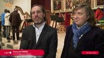 SUJET - Harpes et chanteurs subjuguent le public de l'église du Christ-Roi