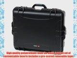 Nanuk 945 Case with Cubed Foam -Black