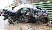 , Audi R8 Crash Unfall Audi R8 in Brazil 2015