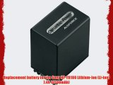 SDNPFH100 Rechargeable Lithium-Ion ultra High Capacity 7.4V 4500mAh Battery Replacement for