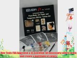 Professional quality Face Paint/Body Paint and Temporary Glitter Tattoo Kit with Sponge and