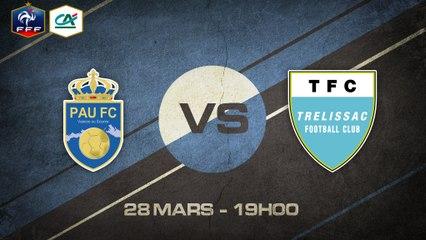 Samedi 28 mars à 19h00 - Pau FC - Trélissac FC - CFA D