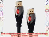 PlugLug HD-1000 Series High-Speed HDMI Cable (50 Feet) - Supports Ethernet 3D Audio Return