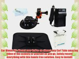 All in 1 Car Mount Kit For For GoPro HD HERO3 GoPro HERO3  and GoPro AHDBT-201 AHDBT-301 Action