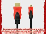 BIRUGEAR 10FT Micro HDMI Cable (Red/Black)   Stylus (Red) for LG Esteem MS910  Optimus 2x Optimus