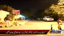 Rangers Removed Barriers Outside From Pervez Musharraf House