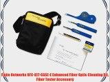 Fluke Networks NFC-KIT-CASE-E Enhanced Fiber Optic Cleaning Kit Fiber Tester Accessory
