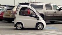 Cette voiture électrique est adaptée aux personnes handicapées