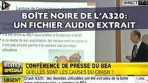 Boîte noire de l'A320: Un fichier audio extrait avec succès
