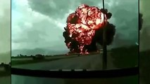 Plane Crash in Afghanistan Caught on Tape Real Footage