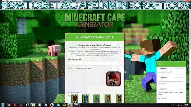 How To Get A Cape In Minecraft Free (Minecon, Optifine, MC Developer) Any Version
