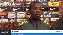 "Football / Amical / Robinho : ""France-Brésil ? Des matches particuliers"" - 25/03"