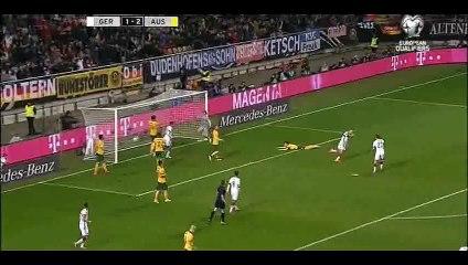 Germany 2-2 Australia - Goal Podolski - 25-03-2015