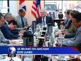 Luis Guillermo Solís intenta disipar las preocupaciones de inversionistas y empresarios por declaraciones de Ottón Solís