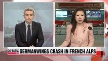 European leaders survey Germanwings crash site