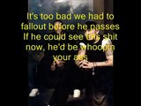 Eminem, Dr Dre and Obie Trice - Shit hits the fan (lyrics)