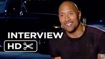 Furious 7 Interview - Dwayne Johnson (2015) - Vin Diesel, Michelle Rodriguez Mov_HD