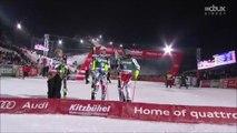 Alpin, slalom du super-combiné, Kitzbühel, 23 janvier 2015 (victoire de Pinturault)