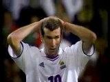 Foot Zinédine Zidane Zizou