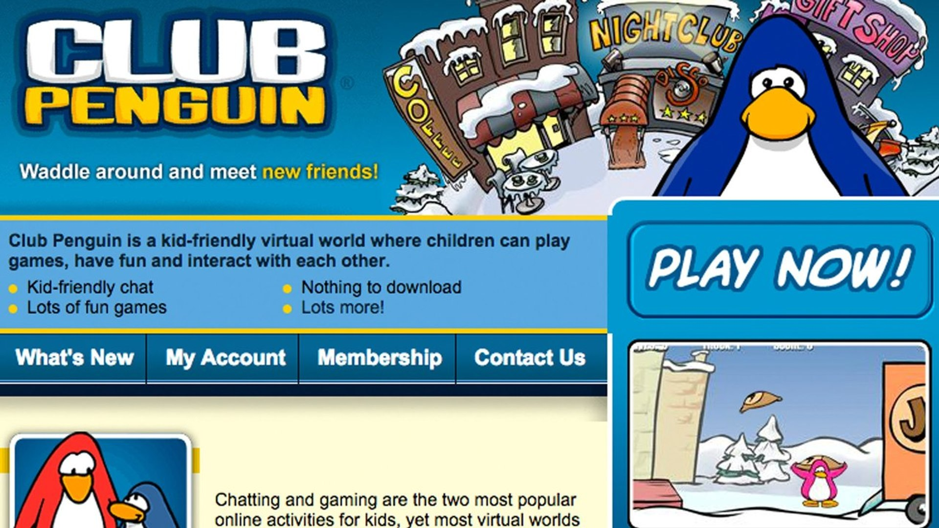 Club Penguin: 2005-2015