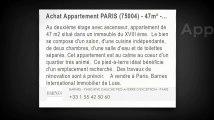 Vente - appartement - PARIS (75004) - 3 pièces - 47m²