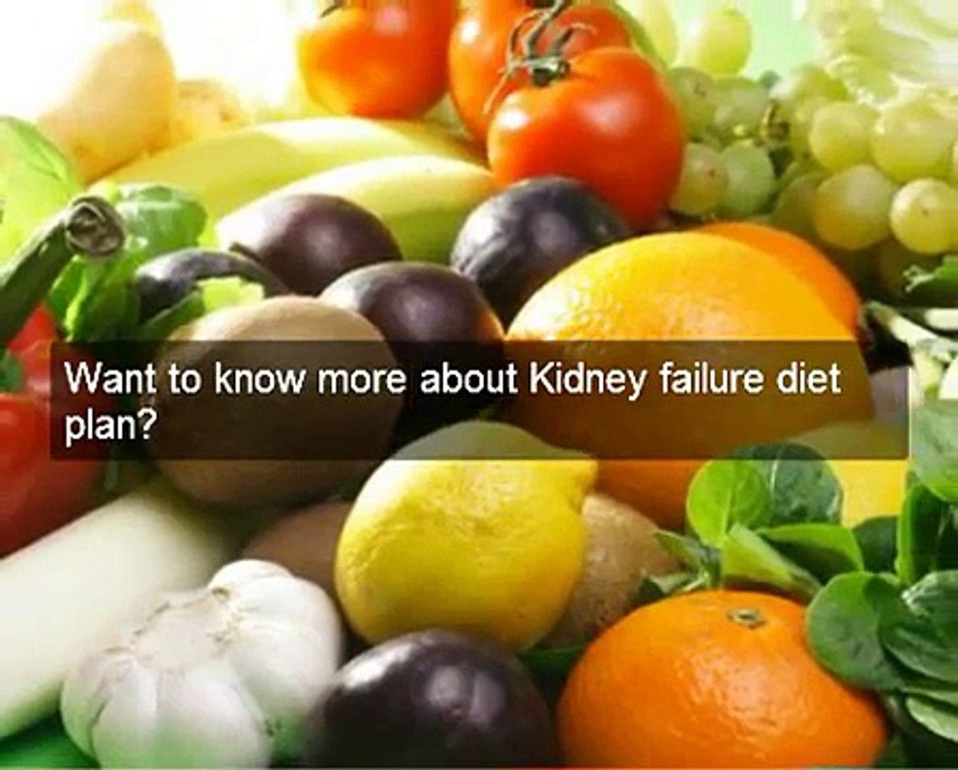Working kidney failure diet plan. Kidney diet secrets researched & tested kidney failure diet pl