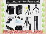 All In Accessory Kit For Panasonic Lumix DMC-FZ70 DMC-FZ70K DMC-FZ60 DMC-FZ60K DMC-FZ100 DMC-FZ40