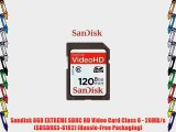 Sandisk 8GB EXTREME SDHC HD Video Card Class 6 - 20MB/s (SDSDRX3-8192) [Hassle-Free Packaging]