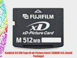SanDisk 512 MB Type M xD-Picture Card ( SDXDM-512 Retail Package)