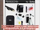 Essential Accessories Kit For Sony Cyber-shot DSC-HX30V DSC-HX20V Digital Camera Includes Extended