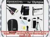 Essential Accessories Kit For Olympus SZ-12 SZ-31MR iHS SZ-16 iHS TG-850 iHS TG-860 Digital
