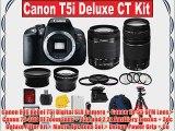 Canon EOS Rebel T5i Digital SLR Camera   Canon 18-55 STM Lens   Canon 75-300 III Zoom Lens