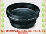 Canon WC-DC58A Wide Converter Lens for the S5 IS S3 IS