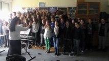 [École en choeur] Académie de Nantes - Collège Corentin Riou à Moutiers-les-Mauxfaits