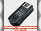 2.4Ghz Wireless Flash Trigger/Wireless Shutter Release Transceiver Kit (WS-603C for Canon)