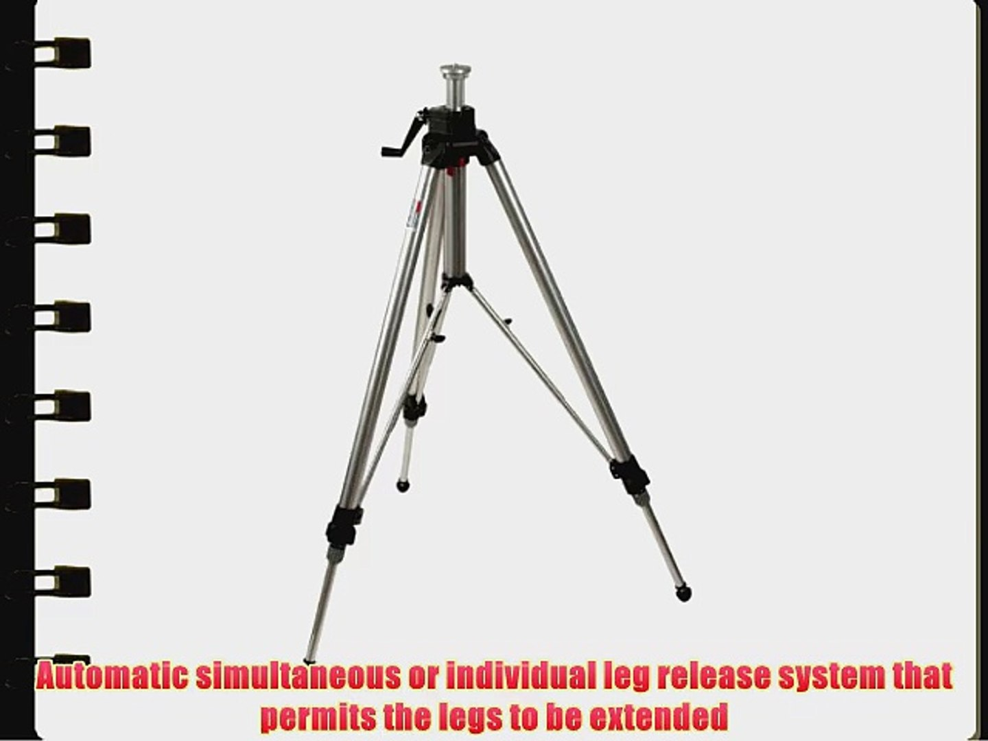 Silver Manfrotto 3046 Studio Pro Tripod without Head