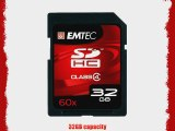EMTEC 32 GB SDHC Class 4 Flash Memory Card