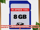 8GB Accessories Kit For Canon PowerShot ELPH 510 HS Digital Camera Includes 8GB High Speed