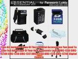 32GB Accessory Kit For Panasonic Lumix DMC-FZ70 DMC-FZ70K DMC-FZ60 DMC-FZ100 DMC-FZ40 DMC-FZ47